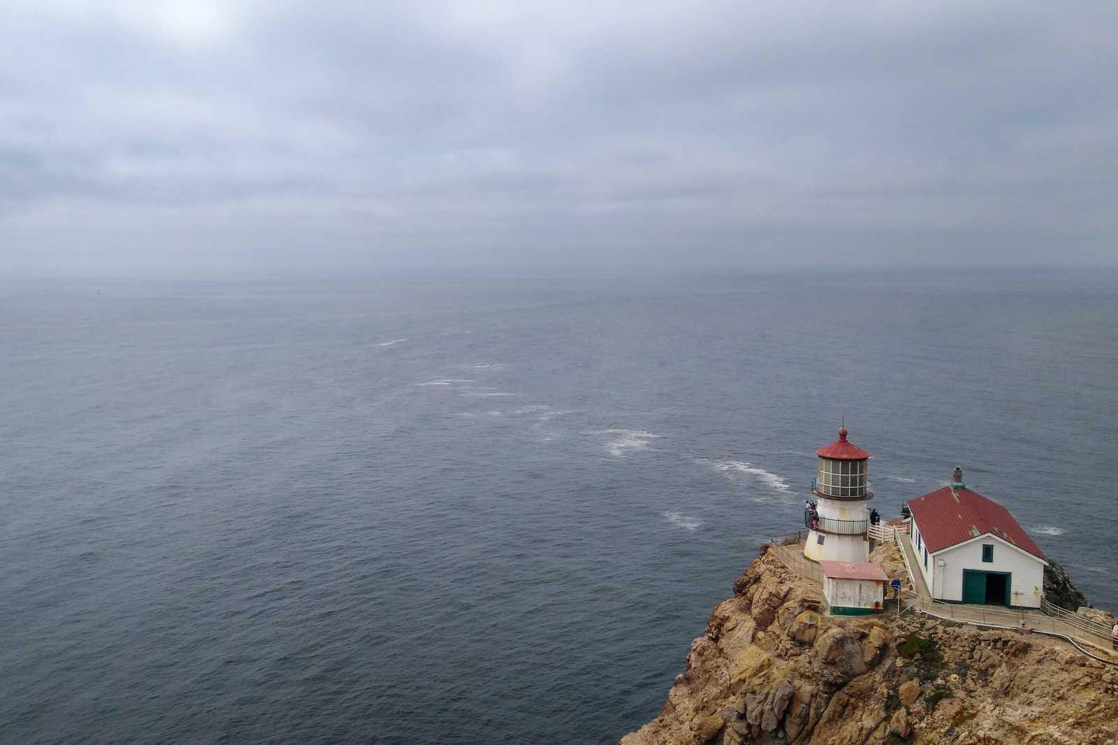 The Point Reyes Leuchtturm im Point Reyes National Seashore Schutzgebiet in Kalifornien