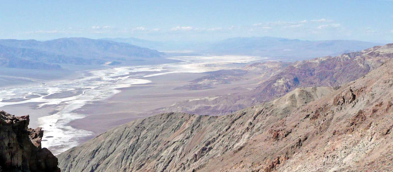 Impression Dantes View im Death Valley NP
