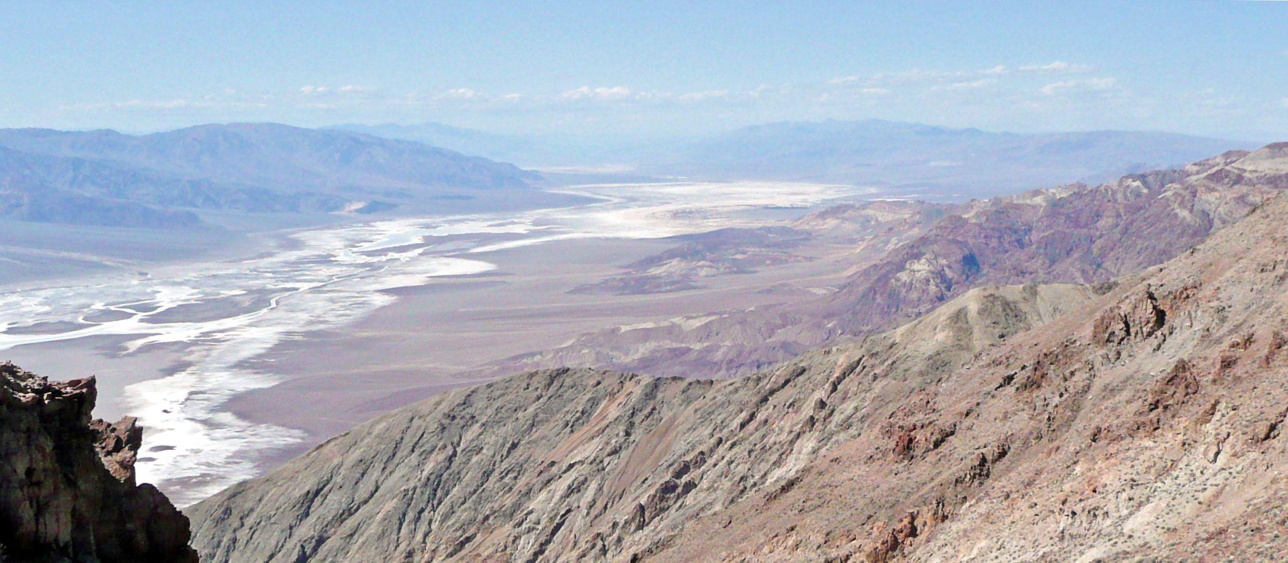 Impression Dantes View im Death Valley NP