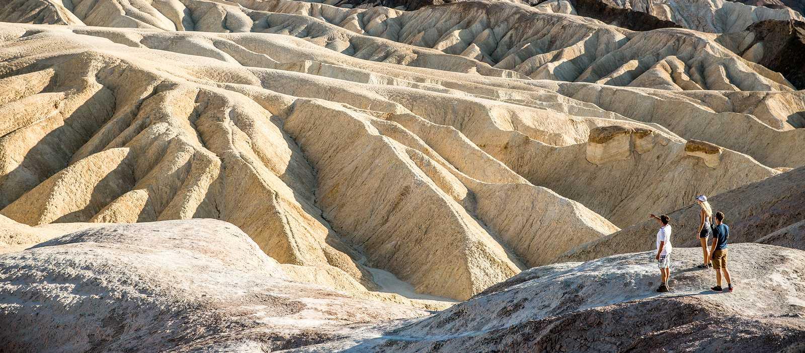 Zabriskie Point im Death Valley Nationalpark, Kalifornien