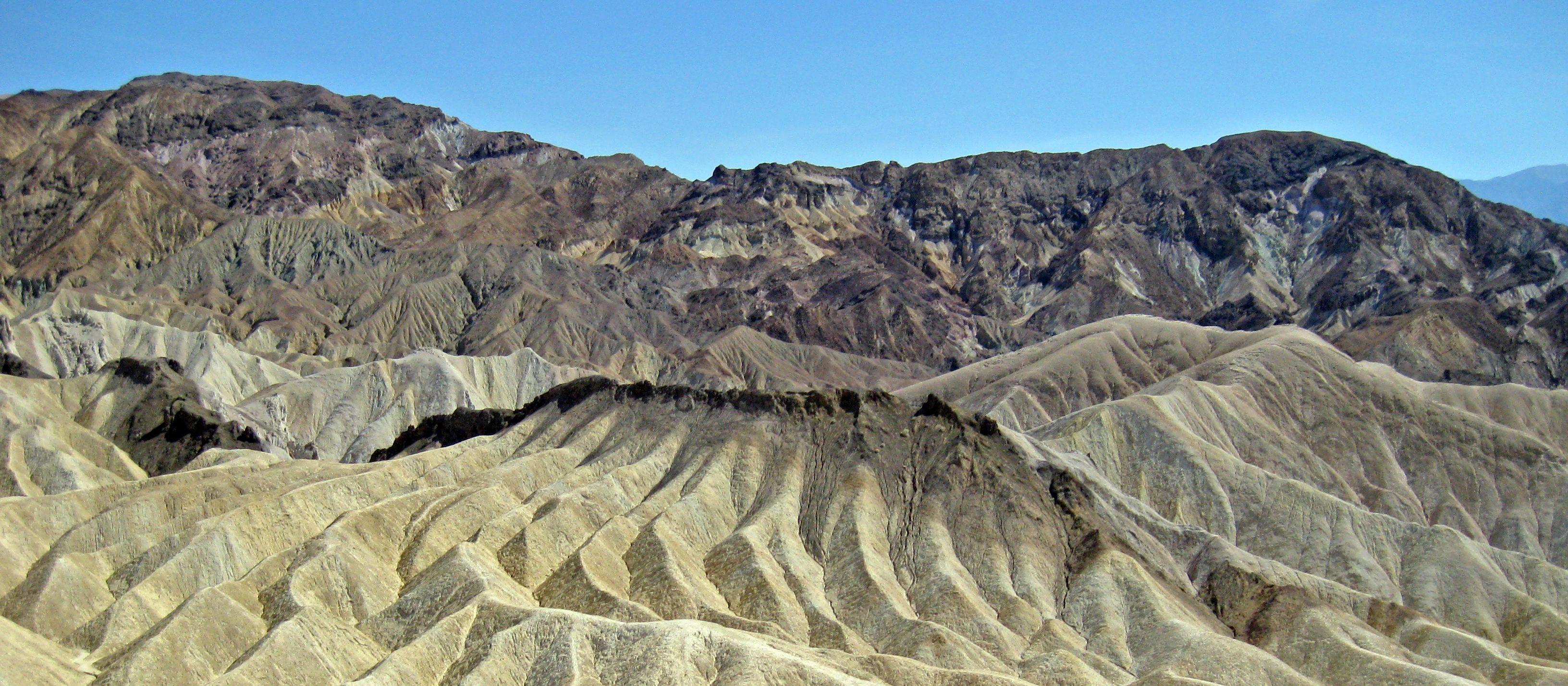 Felsformation im Death Valley