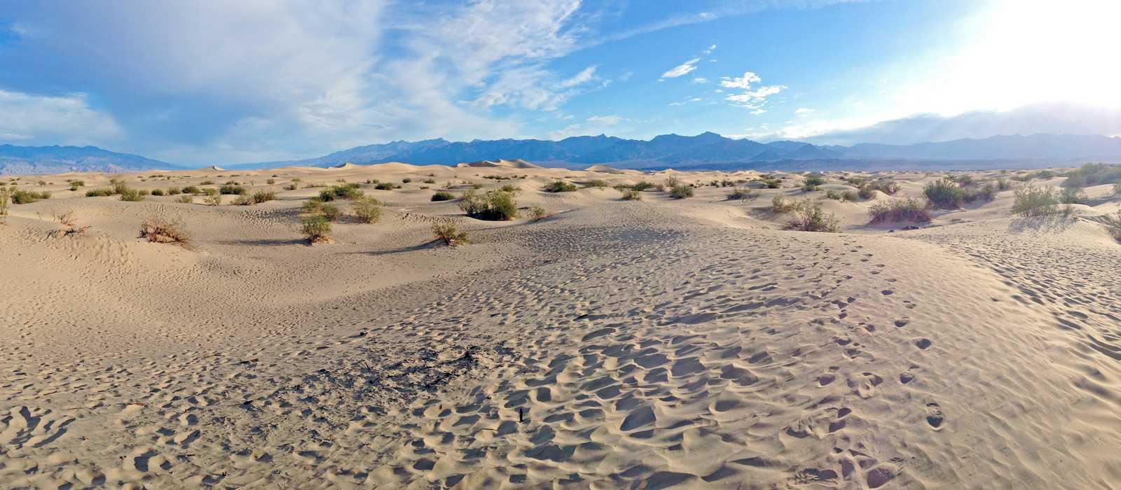 Landschaft im Death Valley