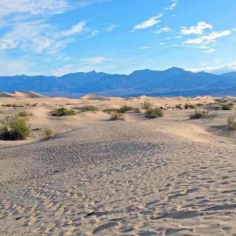 Landschaft im Death Valle