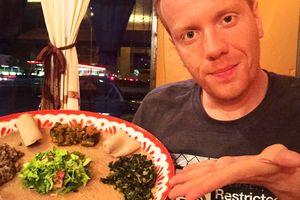 Vegane afrikanische Köstlichkeiten im Fasika in Fresno Kalifornien entdecken