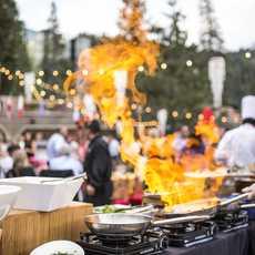 Catering des Resort at Squaw Creek, Kalifornien