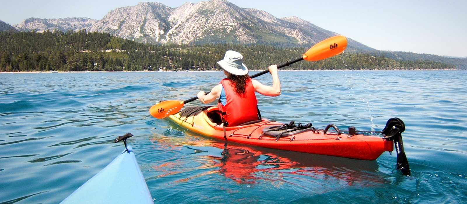 Kajakfahren auf dem Lake Tahoe