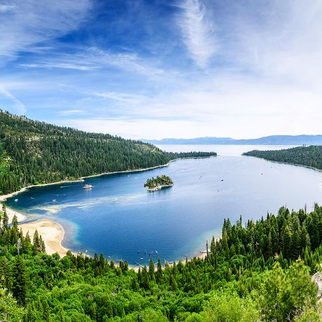 Emerald Bay am Lake Tahoe
