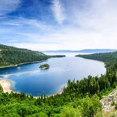 Emerald Bay am Lake Tahoe