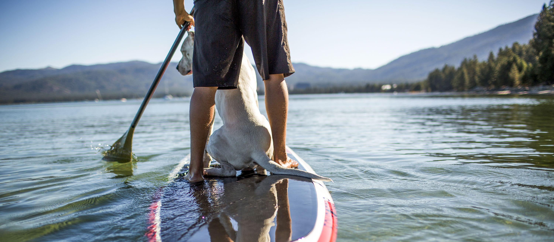Wassersport auf dem Lake Tahoe