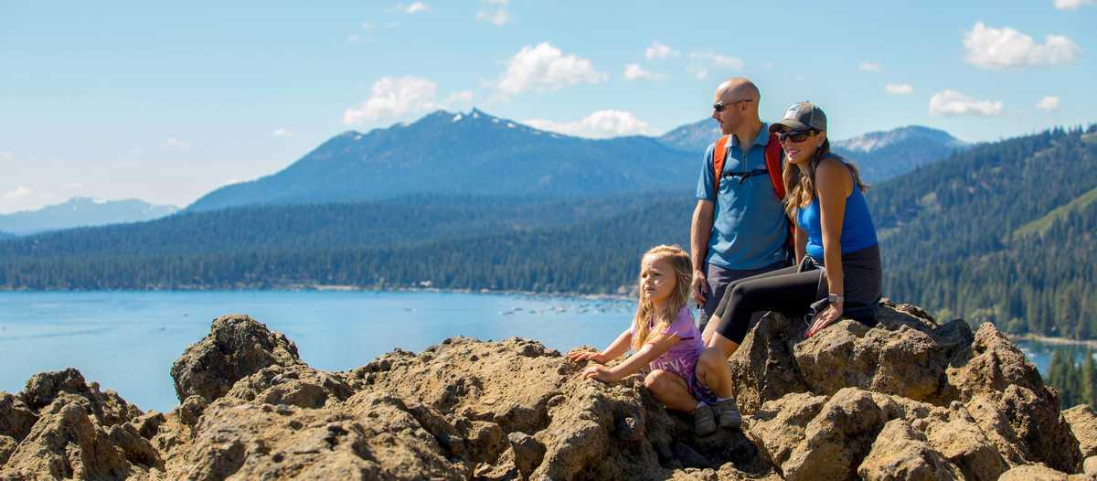 Den Sommer nördlich des Lake Tahoe in Kalifornien genießen