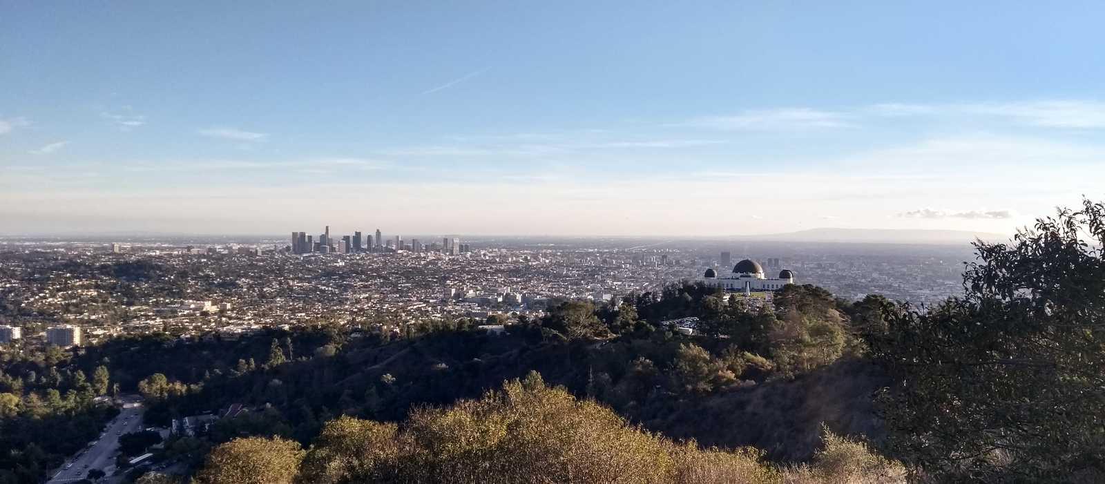 Aussicht auf Los Angeles