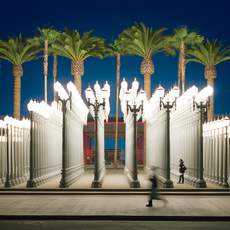Urban Lights in Los Angeles