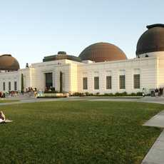 Los Angeles, evening at Griffith Observatory