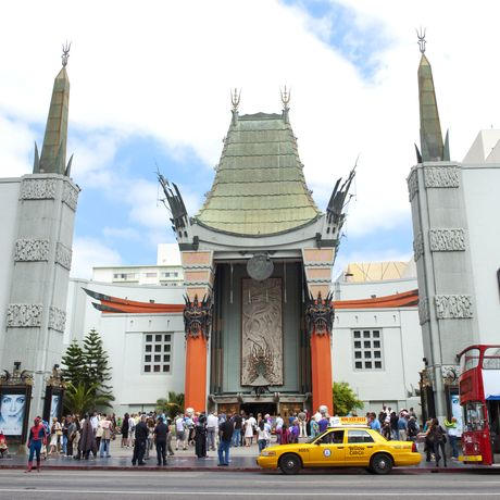 Los Angeles, Hollywood Blvd., Walk of Fame in front of Grauman´s Chinese Theatre