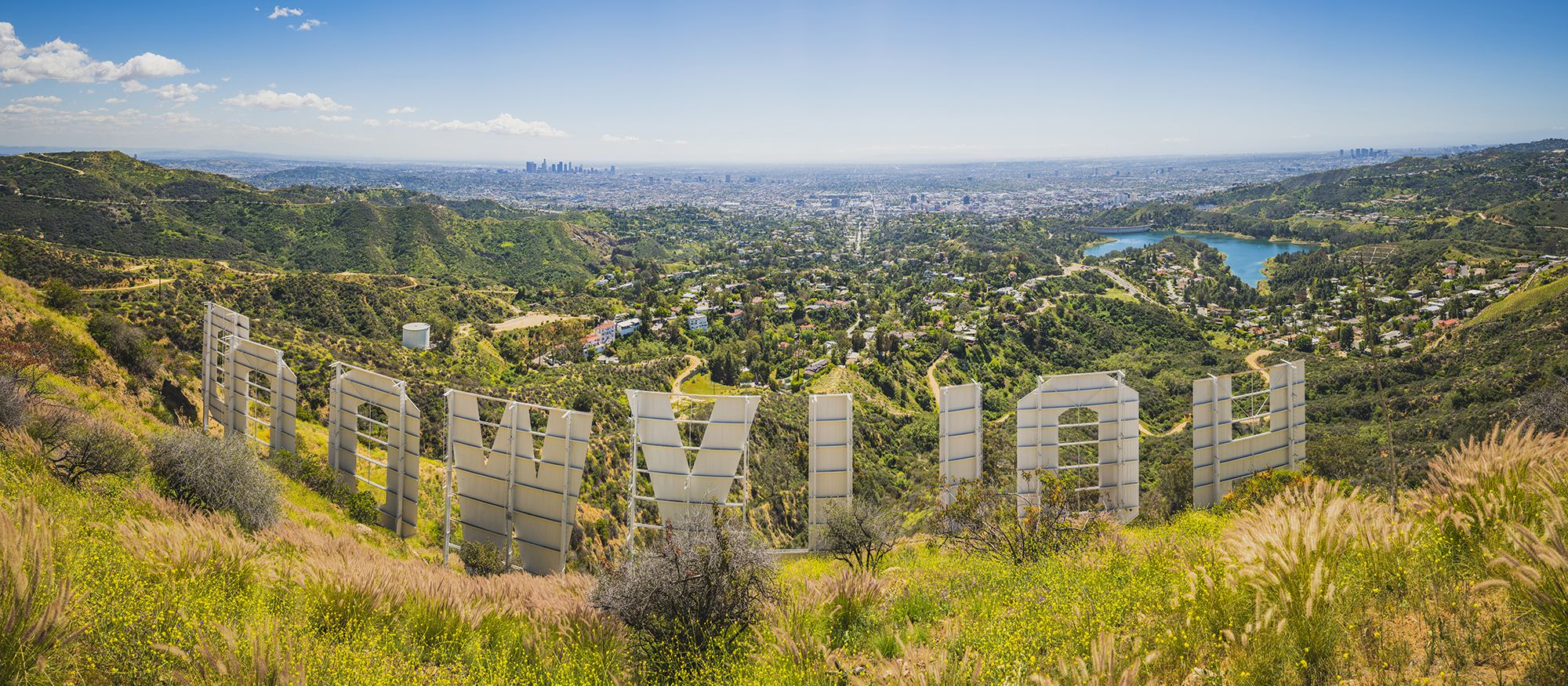 Das Hollywood Sign in Los Angeles