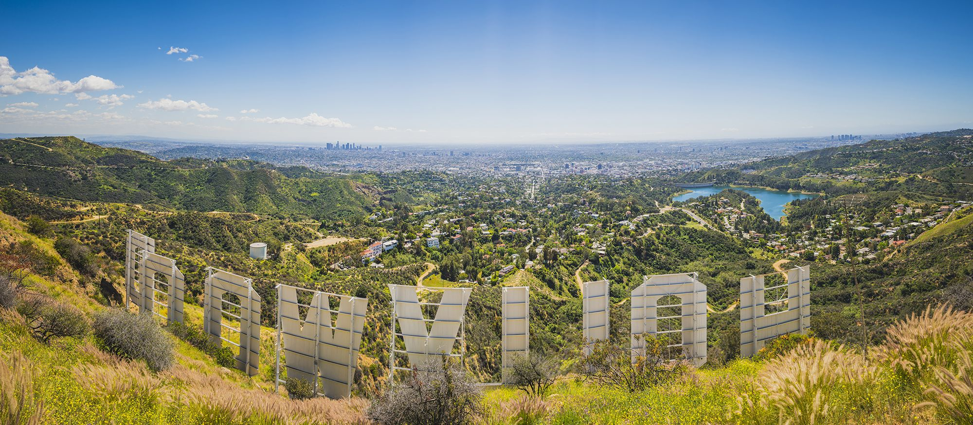 Das Hollywood Sign in Los Angeles