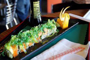Veganes Sushi im Happy Elephant in Los Angeles erleben