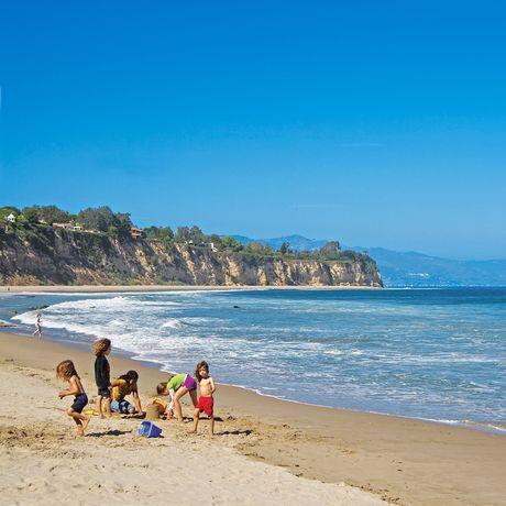 Strandleben am Malibu Beach
