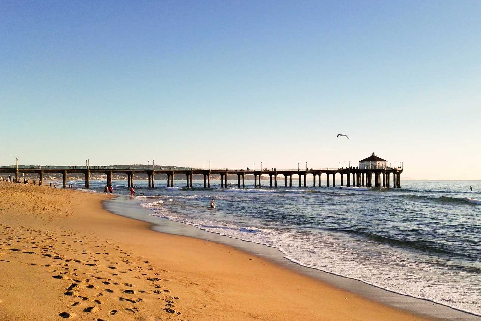 Manhattan Beach Pier in Los Angeles