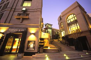 Der Rodeo Drive in Los Angeles