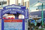 Der Santa Monica Pier in Los Angeles