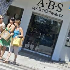 Shopping auf der Montana Avenue