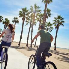 Radtour in Santa Monica