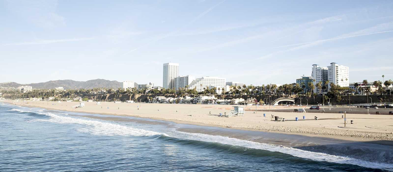 Strand von Santa Monica