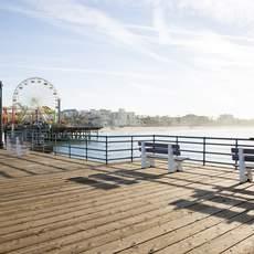 Pacific Park auf dem Santa Monica Pier