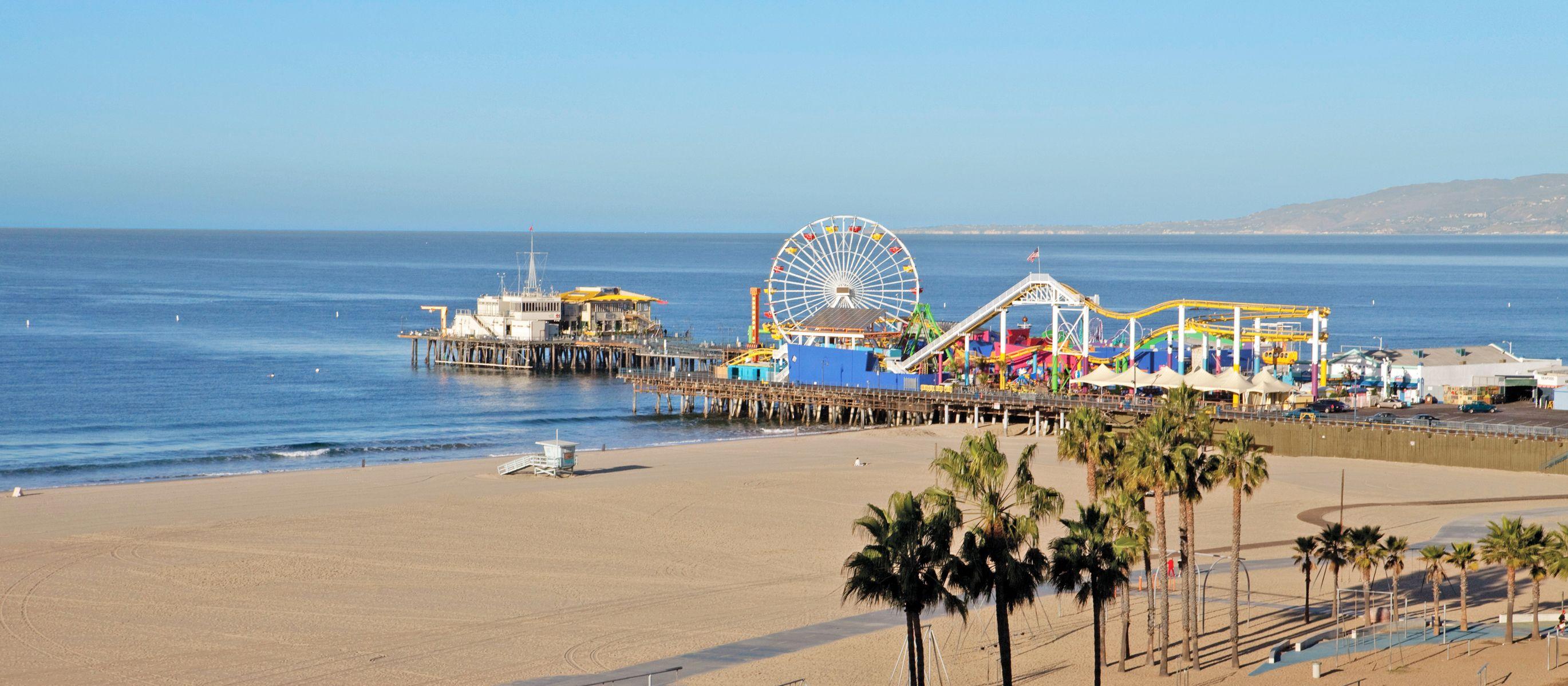 Pier von Santa Monica