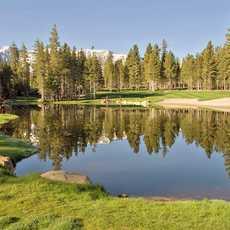 Golfen mit Ausblick