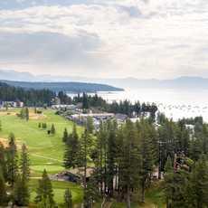 Der Tahoe City Golf Course in Kalifornien
