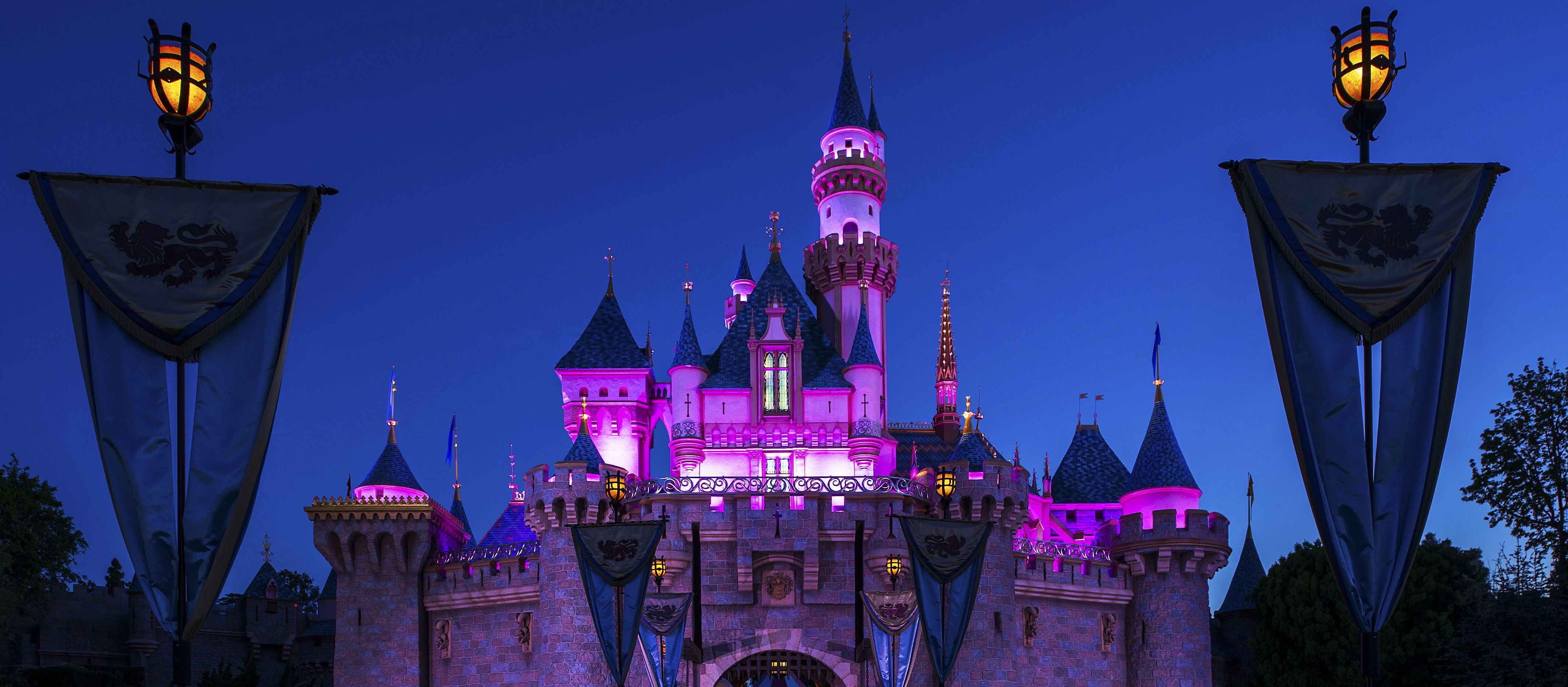 Sleeping Beauty Castle im Disneyland Resort