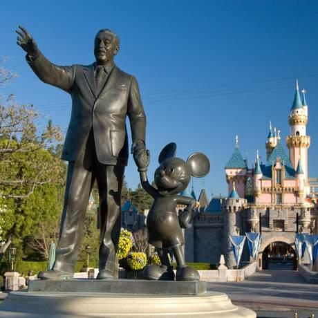 Sleeping Beauty Castle im Disneyland Resort