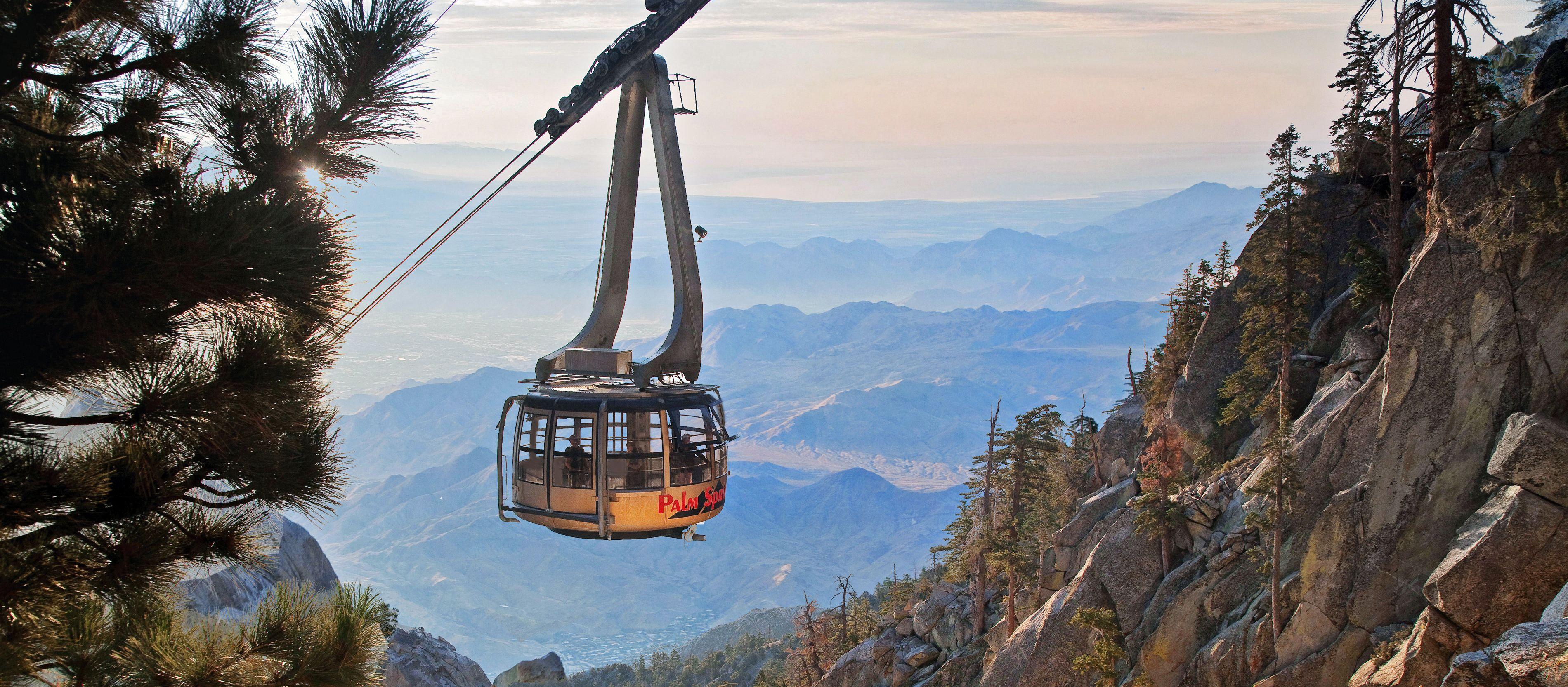 Aussicht auf die Palm Springs Aerial Tramway