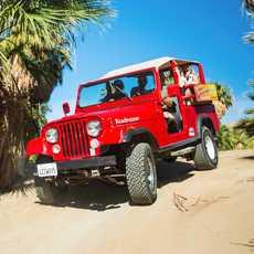 Mit dem Jeep unterwegs in Palm Springs