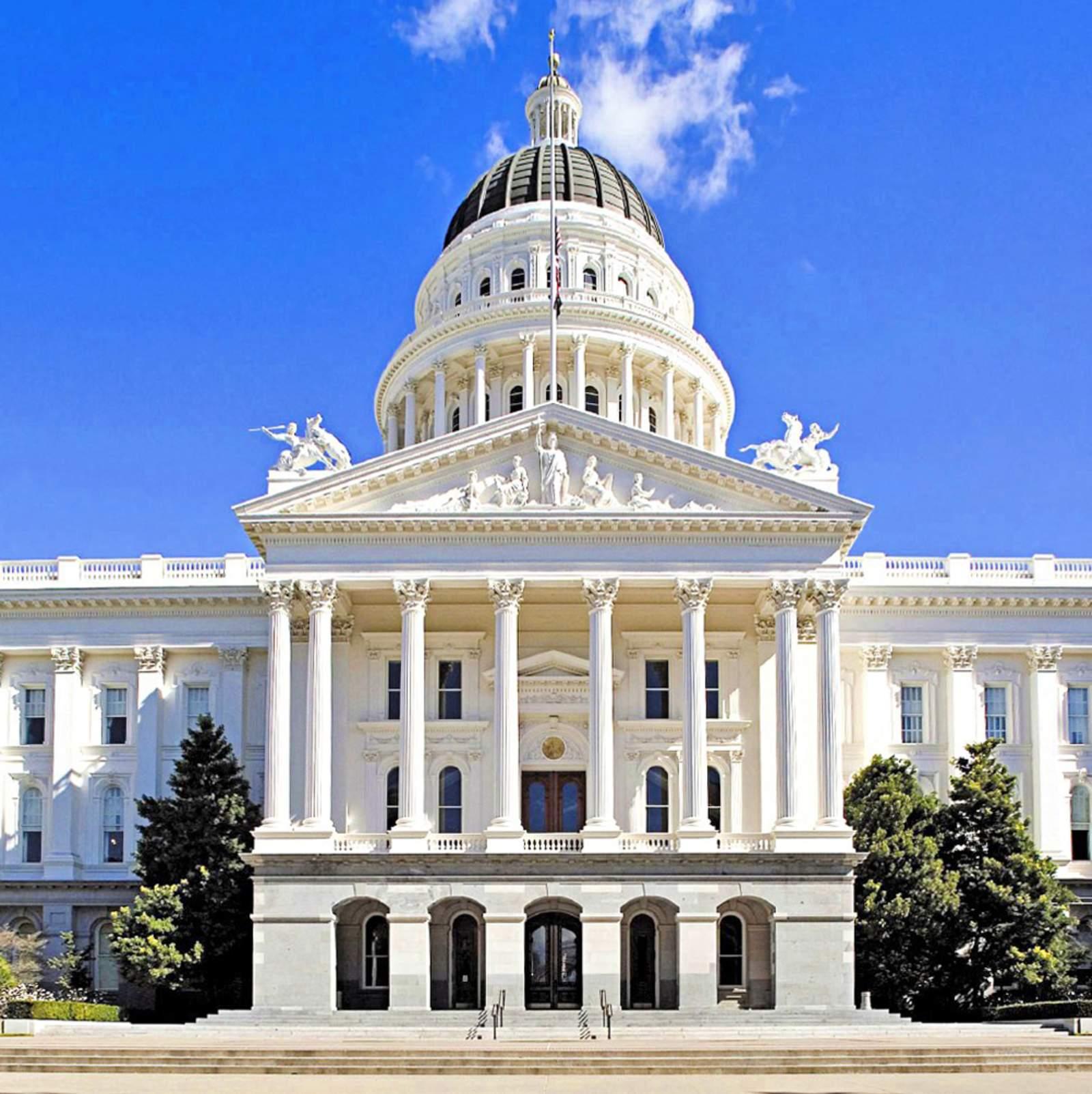 Capitol in Sacramento