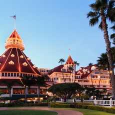 Abendstimmung am Hotel del Coronado