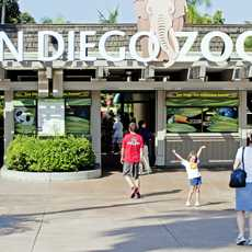 Eingang des San Diego Zoos