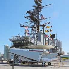 An Bord der USS Midway