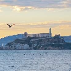 Blick auf Alcatraz