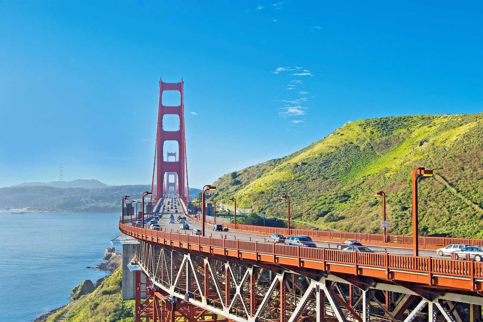Blick auf die Golden Gate Bridge