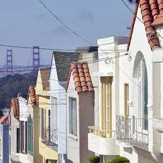 Ausblick auf Golden Gate Bridge