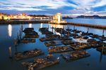 Der Pier 39 am Fisherman's Wharf im Norden San Franciscos
