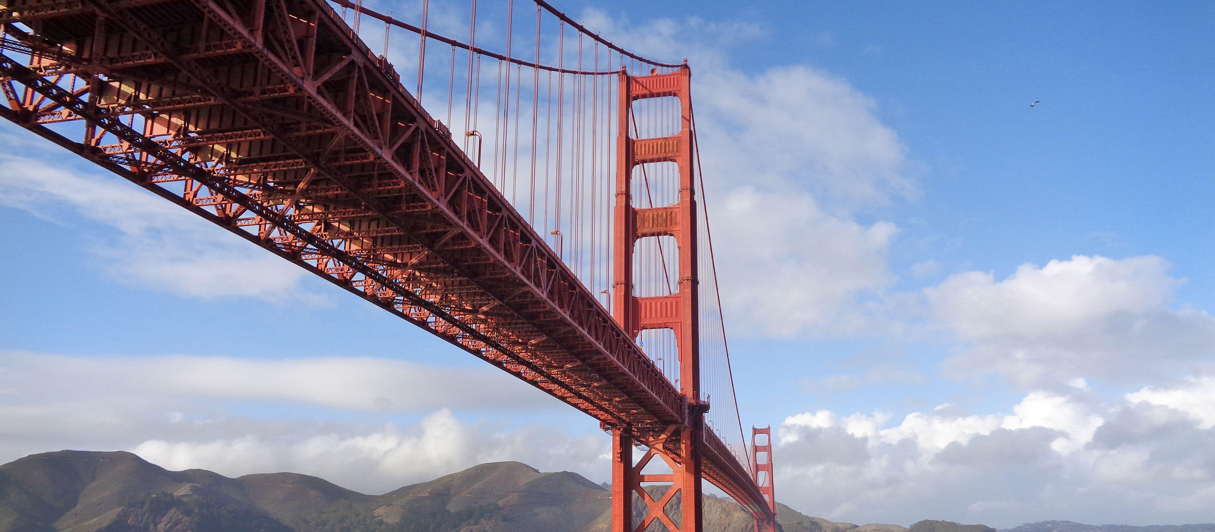 Die Golden Gate Bridge in San Francisco