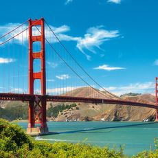 Golden Gate Bridge bei Sonnenschein