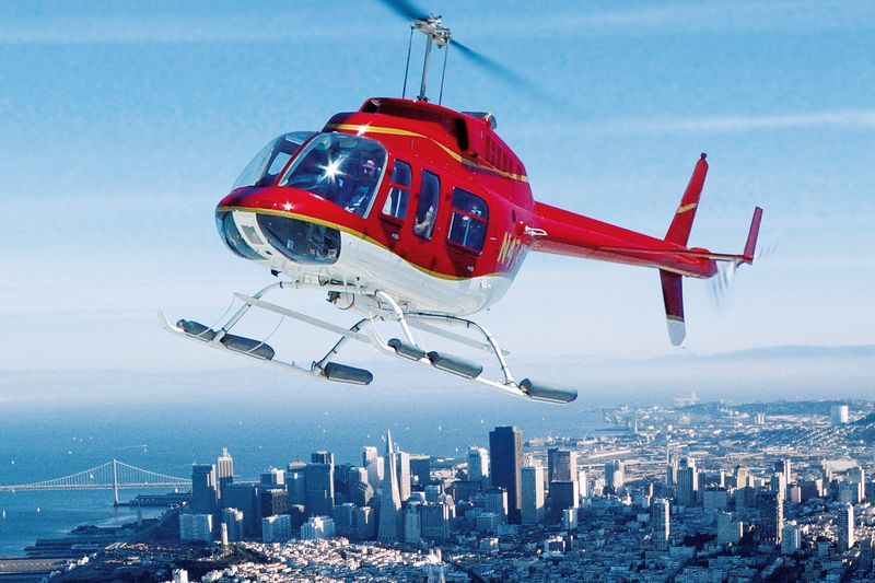San Francisco Helicopter Tours Mit CANUSA TOURISTIK  CANUSA
