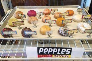 Vegane Köstlichkeiten bei Pepples Donuts in San Francisco