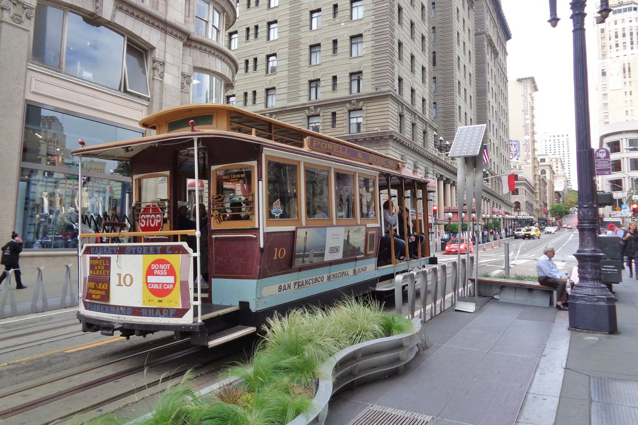 Mit dem Cable Car durch San Francisco