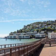 Am Ufer in Sausalito